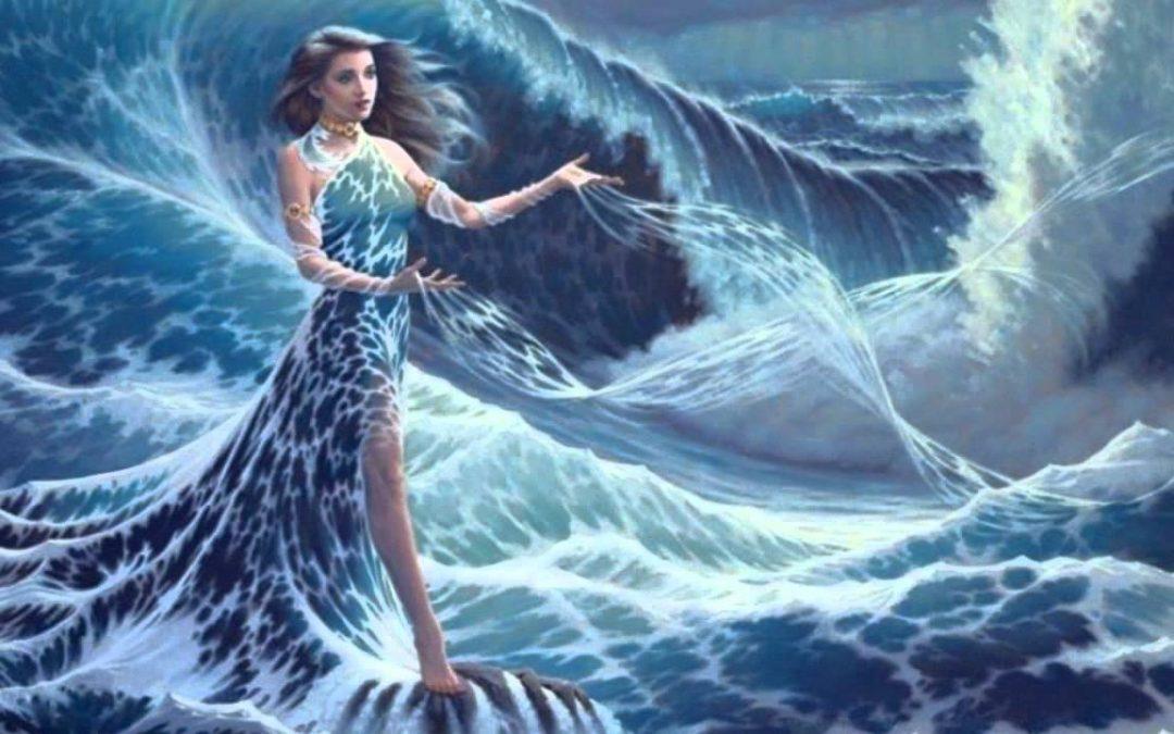 A Nő hullámzik